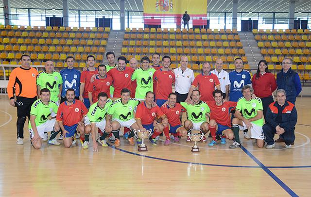 La Ciudad del Fútbol acoge el I Torneo de Navidad de Fútbol Sala del Ministerio de Defensa