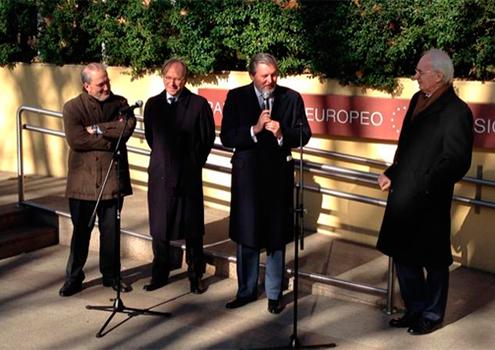 Méndez de Vigo participa en el primer acto de la Presidencia letona