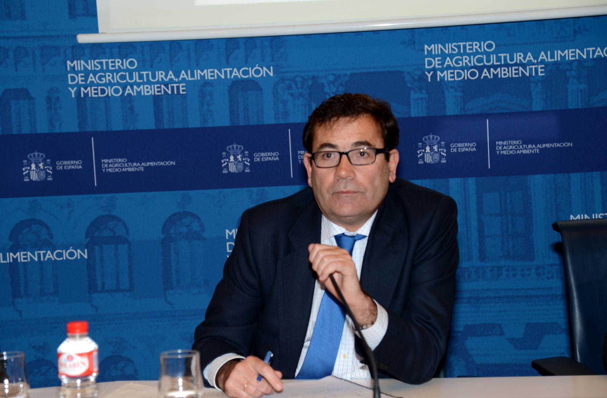 """Carlos Cabanas apuesta por el futuro del sector agroalimentario """"que tiene margen para desplegar todo su potencial y alcanzar mayores cuotas de mercado"""""""