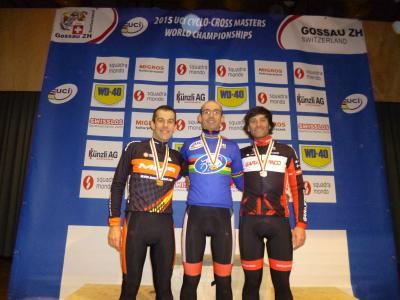 Oro para Bruno Prieto y dos bronces en el Mundial CX master