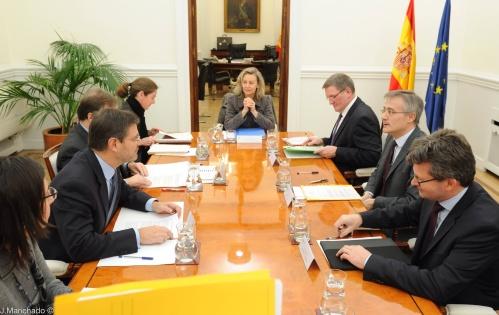 Catalá se reúne con el ministro de Justicia de Luxemburgo