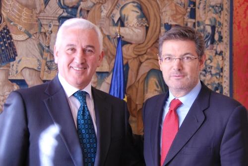Catalá se reúne con el ministro de Justicia de Albania