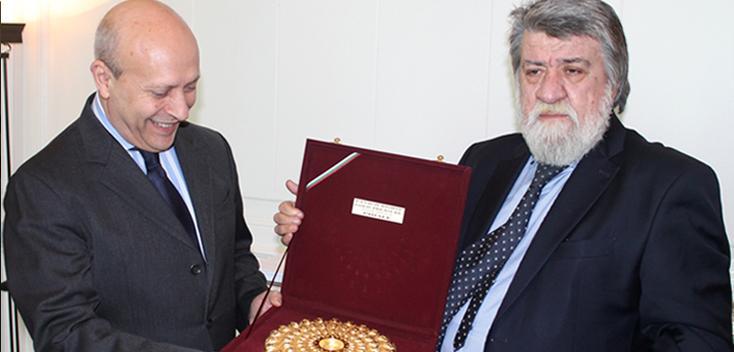 José Ignacio Wert se reúne con el ministro de Cultura de Bulgaria, Vezhdi Rashidov