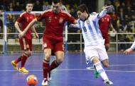 Triunfo de la Selección a beneficio de los jugadores de fútbol sala