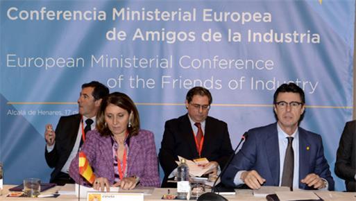 Los ministros europeos de Industria consideran que el sector industrial es el verdadero motor económico y generador de empleo de Europa