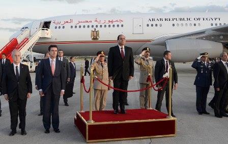 El ministro de Industria, Energía y Turismo recibe al presidente de Egipto