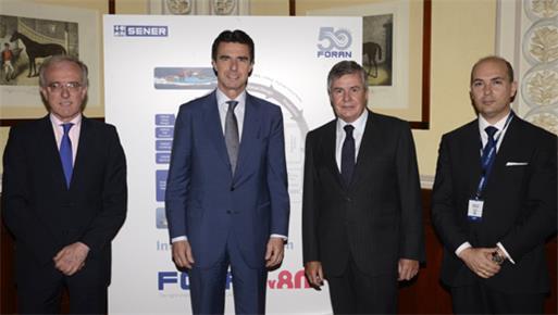 El ministro de Industria, Energía y Turismo clausura el acto del 50 aniversario de FORAN (SENER)