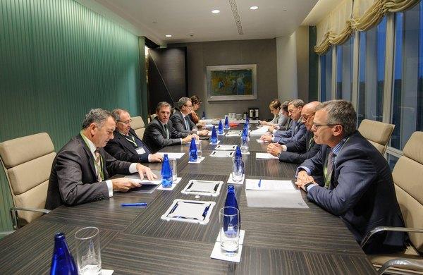 Visita del Presidente de la Cámara de España a Bilbao
