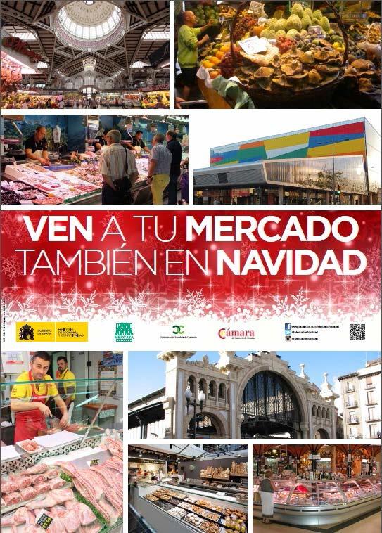 Promoción de las ventas en los Mercados durante la campaña de Navidad 2015