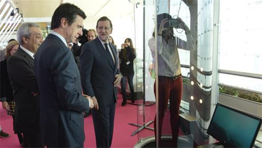 José Manuel Soria acompaña a Mariano Rajoy en la inauguración de FICOD