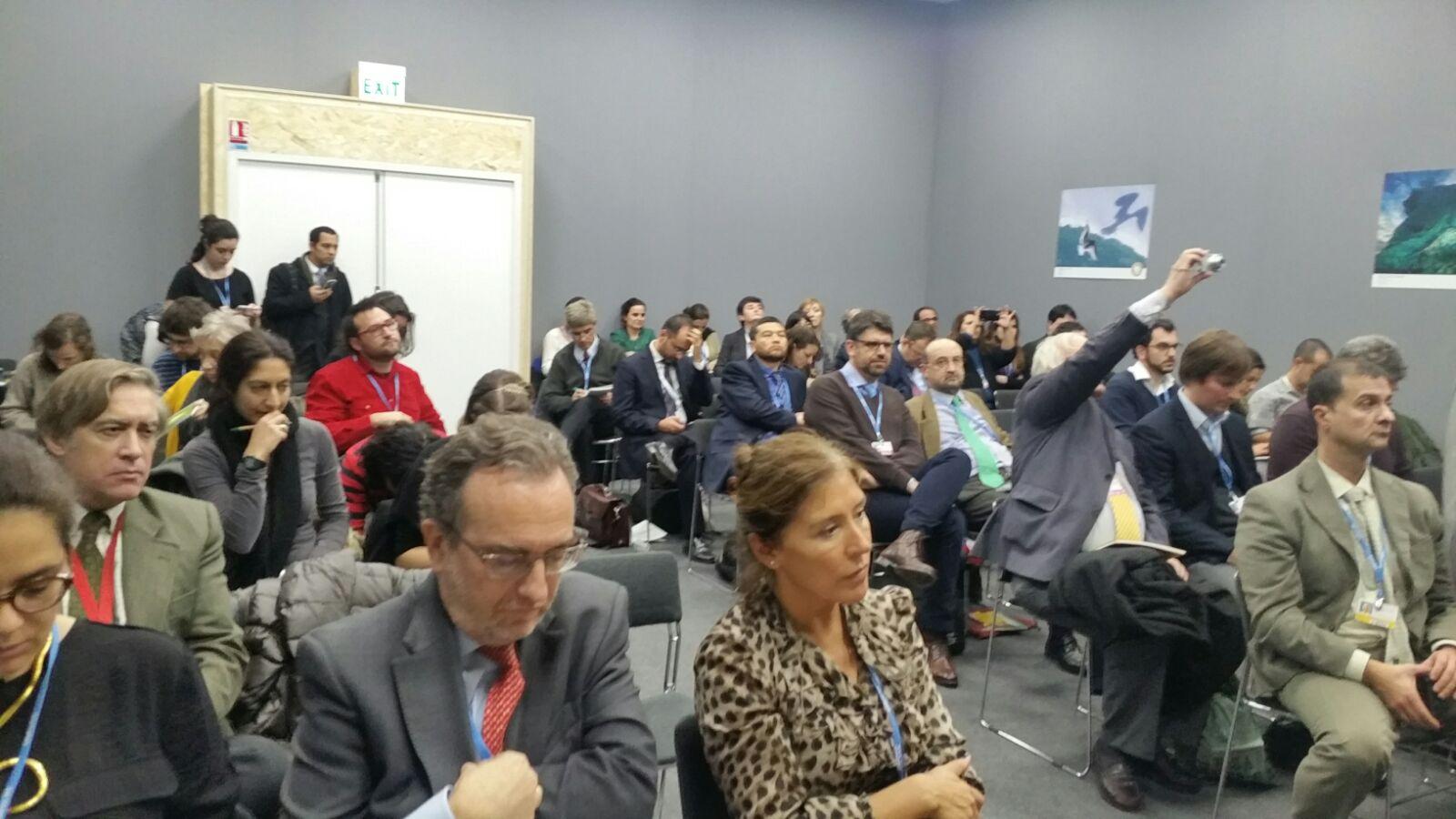 Galicia se suma al pacto sobre agua y cambio climático acordado en la Cumbre de París
