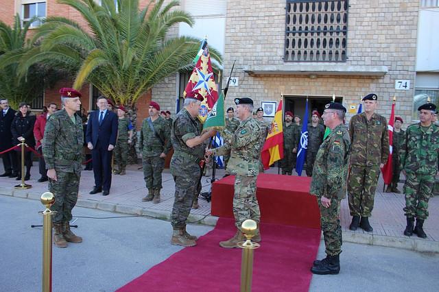El cuartel de Bétera asume el mando terrestre de la Fuerza de Respuesta Aliada para 2016