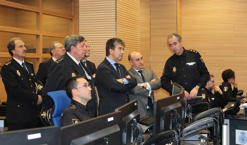 Ignacio Cosidó visita esta tarde CEFRONT, el nuevo Centro Nacional de Coordinación de Puestos Fronterizos de la Policía Nacional