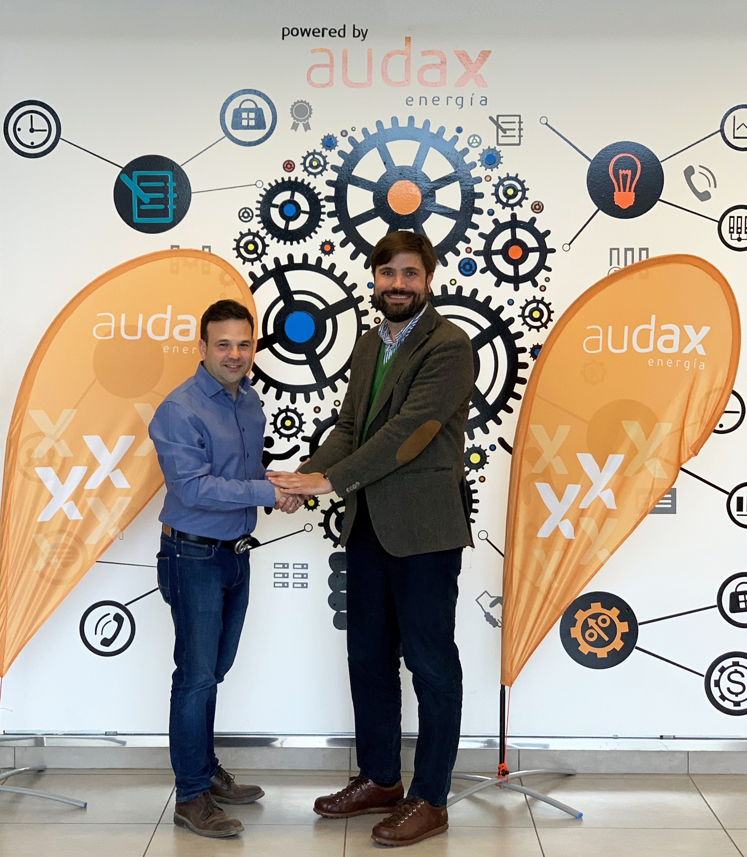Jose Elias Presidente de Audax y Pablo Cuesta_consejero delegado de Praxia